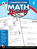 img - for Common Core Math 4 Today, Grade 4: Daily Skill Practice (Common Core 4 Today) book / textbook / text book