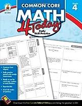Common Core Math 4 Today, Grade 4: Daily Skill Practice (Common Core 4 Today)