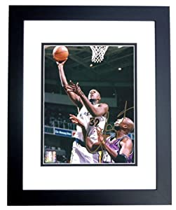 Joe Smith Autographed Hand Signed Golden State Warriors 8x10 Photo - BLACK CUSTOM...