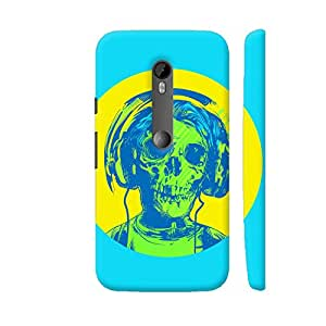 Colorpur Dead Rockstar Designer Mobile Phone Case Back Cover For Motorola Moto G Turbo Edition | Artist: Abhinav