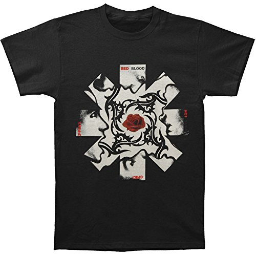 Red Hot Chili Peppers Men's BSSM Asterisk T-shirt Small Black (Hot Small Chili compare prices)