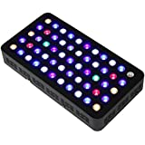 MAGIOVE® Led Aquarium Lighting 165W Dimmable Full Spectrum for Coral, Fish Tank & Reef Aquarium (Black)