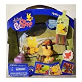 Littlest Pet Shop: Postcard Pets Hermit Crab (#1008) With Shell And Beach Towel Action Figure