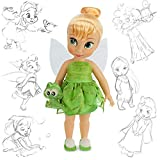 Official Disney Tinkerbell 38cm Animator Toddler Doll With Accessory Croc