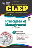 img - for CLEP Principles of Management w/ CD-ROM (CLEP Test Preparation) book / textbook / text book