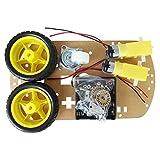 SODIAL-R-Kit-chassis-WST-moteur-intelligent-voiture-robot-Vitesse-codeur-Battery-Box