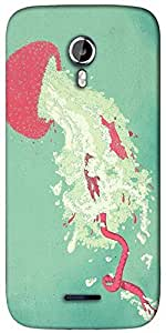 Snoogg Starfish syndrome 2505 Designer Protective Back Case Cover For Micromax A117