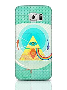 PosterGuy The Dark Side Of The Moon   Fish Eye Art Illustration Samsung Galaxy S6