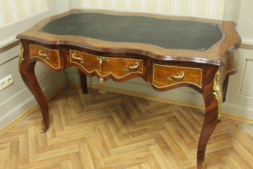 Barroco escritorio mesa Bureau plat 145mosr1314sksw