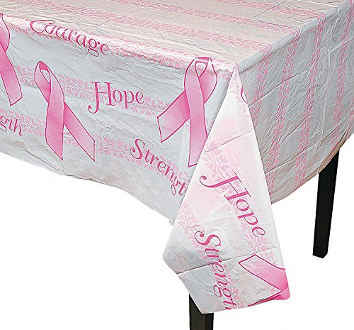 Breast Cancer Awareness Tablecloth (54 in. x 72 in.)