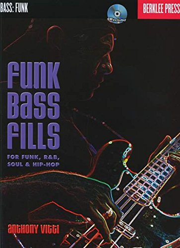 Anthony Vitti: Funk Bass Fills (Book & CD)