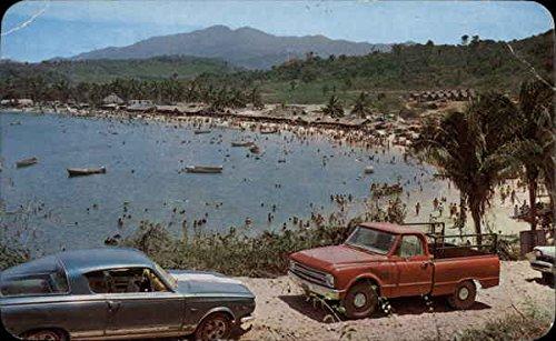 View of the Beach Guayabitos, Mexico, 1950