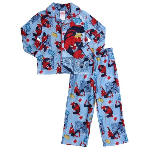 Spiderman Baby-Boys Toddler 2pc Coat Pajamas Set
