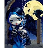 """The Whispered Word Lenore (The Raven) by Jasmine Becket-Griffith 10""""x8"""" Art Print Poster by Bruce McGaw"""