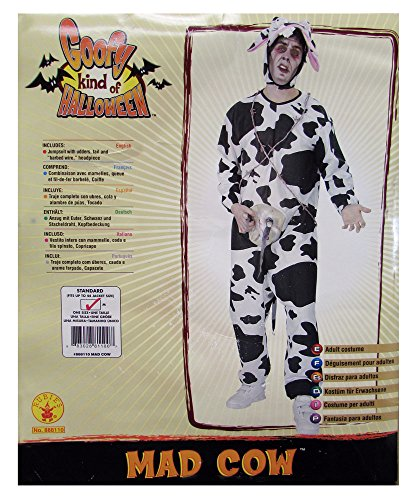Rubie's Mens 'Mad Cow' Halloween Costume