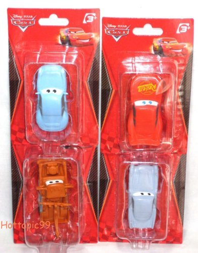 DISNEY PIXAR CARS FIGURE SET OF 4