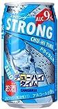 日本サンガリア ストロングチューハイタイム ゼロドライラムネ 缶 350ml×24本