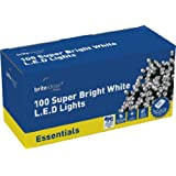 Brite Ideas Festive 100 Multiaction LED Lights, White