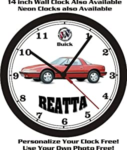 1988 Buick Reatta Wall Clock-free Usa Ship!