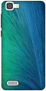 The Racoon Grip Ocean Spray hard plastic printed back case / cover for Vivo V1