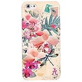 Accessorize ACZ0018 Coque pour iPhone 4/4S Motif Fleur
