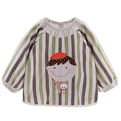 happy-cherry-bluson-bavaglino-babi-impermeabile-maniche-lunghe-tutela-del-bambino-della-pittura-dise
