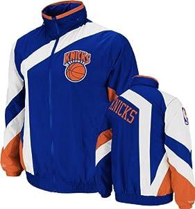 New York Knicks Royal Mitchell & Ness One-on-One Windbreaker by Mitchell & Ness
