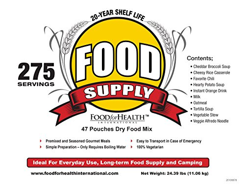 food for health vegetarian emergency food supply 275. Black Bedroom Furniture Sets. Home Design Ideas