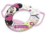 Lulabi Disney Minnie Reductor inodoro Suave con asas, rosa