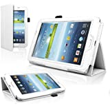 Quicksand Galaxy Tab 3 T210 Case, Slim Flip Smart Case Cover With Inbuilt Stand For Samsung Galaxy Tab 3 T210...