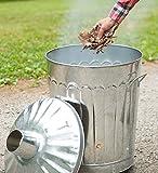 Galvanized-Metal-Garden-Incinerator-Can
