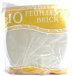 Feuilles de Brick - 250 ct