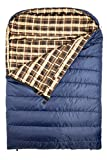 """Search : TETON Sports Mammoth Queen Size Flannel Lined Sleeping Bag (94""""x 62"""")"""