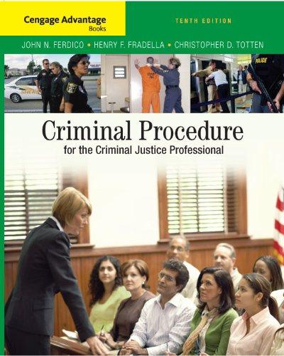 Cengage Advantage Books: Criminal Procedure for the...