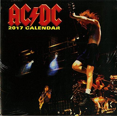2017 AC DC Official Calendar
