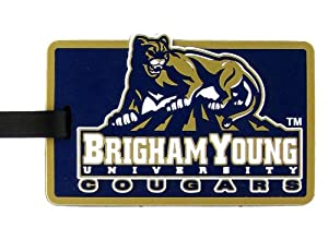 Buy Brigham Young Cougars - NCAA Soft Luggage Bag Tag by aminco