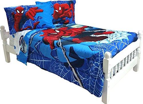 5pc marvel comics spiderman full bedding set spidey astonish comforter