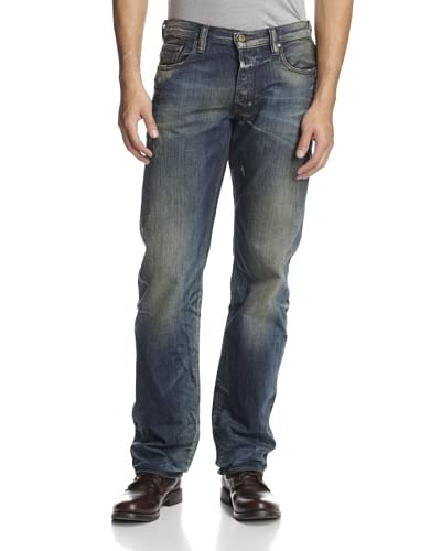 PRPS Men's Barracuda Straight Leg Heritage Wash Jean