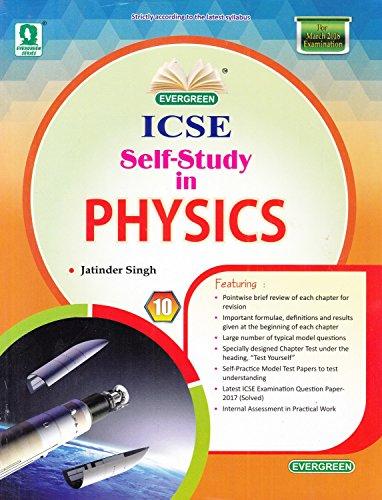 Evergreen ICSE Self-Study in Physics for Class - 10 price comparison at Flipkart, Amazon, Crossword, Uread, Bookadda, Landmark, Homeshop18