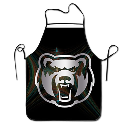 [Central Arkansas Bears Platinum Logo Kitchen Barbecue Apron] (Easy To Make At Home Superhero Costumes)
