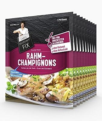 Gourmetfix Basis für Rahmchampignons - 6er Pack 24 Portionen von Gourmetfix auf Gewürze Shop