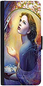 Snoogg Angels In Heaven Designer Protective Flip Case Cover For Samsung Galax...
