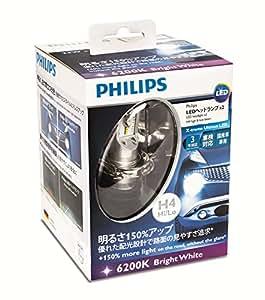 PHILIPS(フィリップス)エクストリームアルティノンLED H4 ヘッドランプ 12953X2