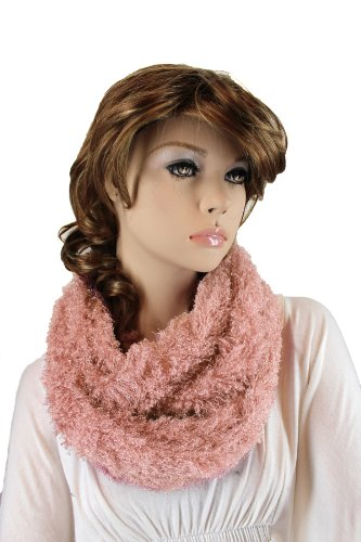 Fashion Dimensions Infinity Eskimo Scarf In Pink
