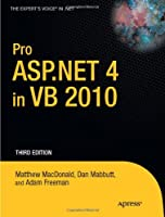 Pro ASP.NET 4 in VB 2010, 3rd Edition