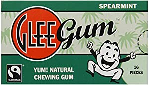 Glee Gum Spearmint, 16-Piece Packages (Pack of 12)
