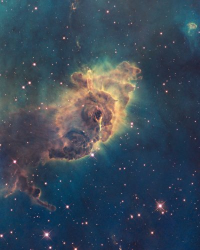 Hubble Space Telescope Photo Carina Nebula Pillar Nasa Photos 8X10