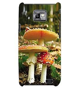 ColourCraft Beautiful Mushrooms Design Back Case Cover for SAMSUNG GALAXY S2 I9100