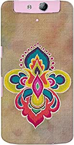Kasemantra Canvas Of Diwali Case For OPPO N1