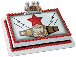 WWE Championship Belt DecoSet Cake Decoration